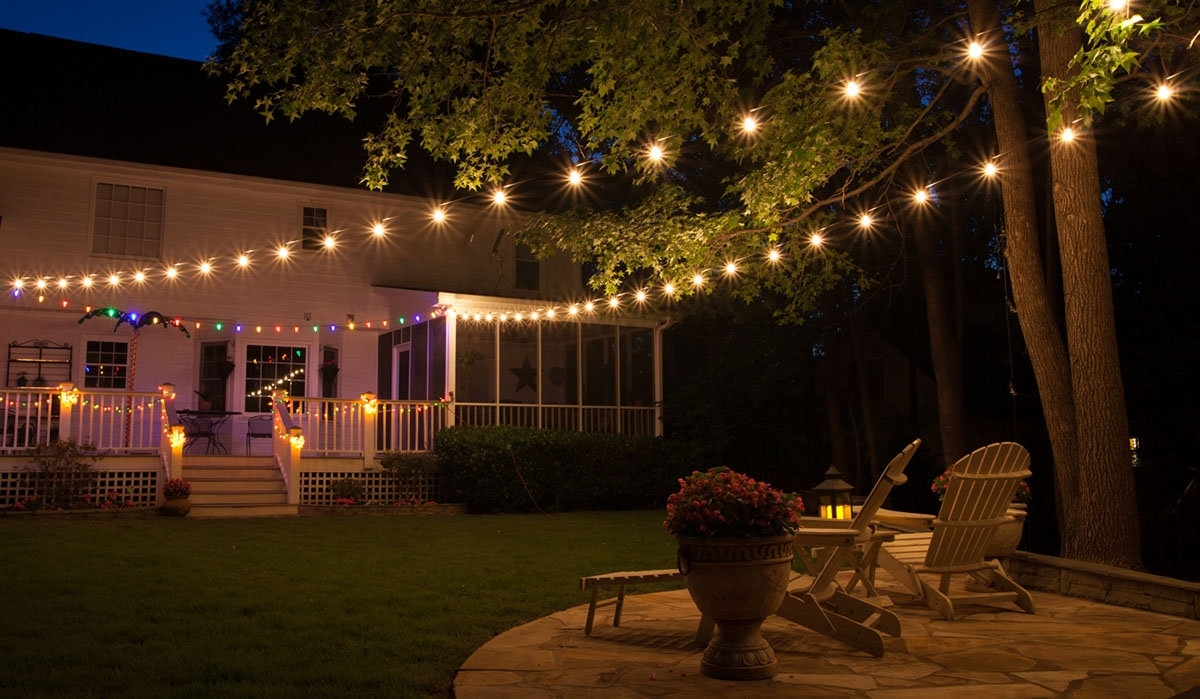 Patio Lights - Yard Envy with regard to Outdoor Lawn Lanterns (Image 15 of 20)