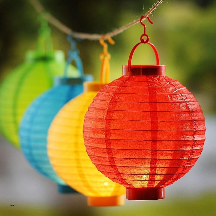 Patio Post Lights. Lovely Paper Lantern Patio Lights: Paper Lantern In Outdoor Paper Lanterns For Patio (Photo 17 of 20)