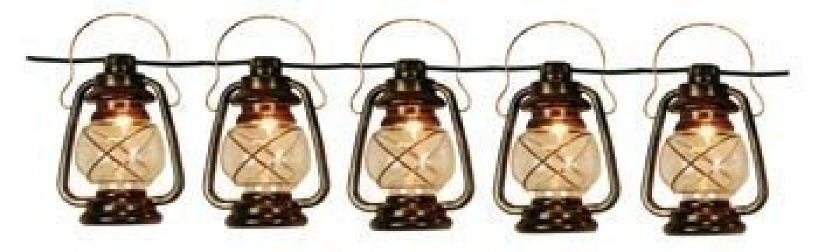 Patio String Lights Oil Lantern Style Indoor Outdoor   Walmart Regarding Outdoor Oil Lanterns For Patio (Photo 8 of 20)
