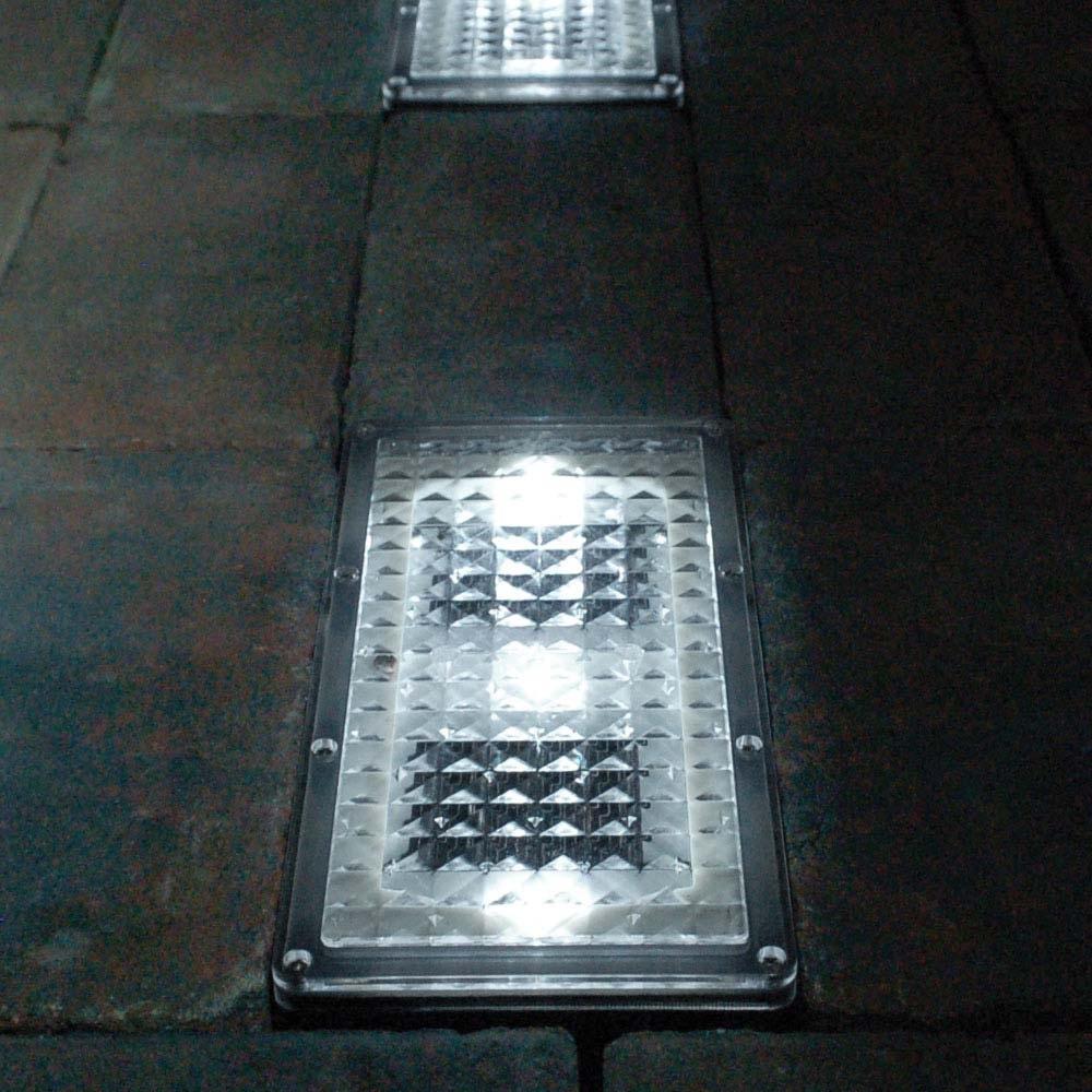 Paverlight Solar Brick Lights (Set Of 2) inside Outdoor Driveway Lanterns (Image 15 of 20)