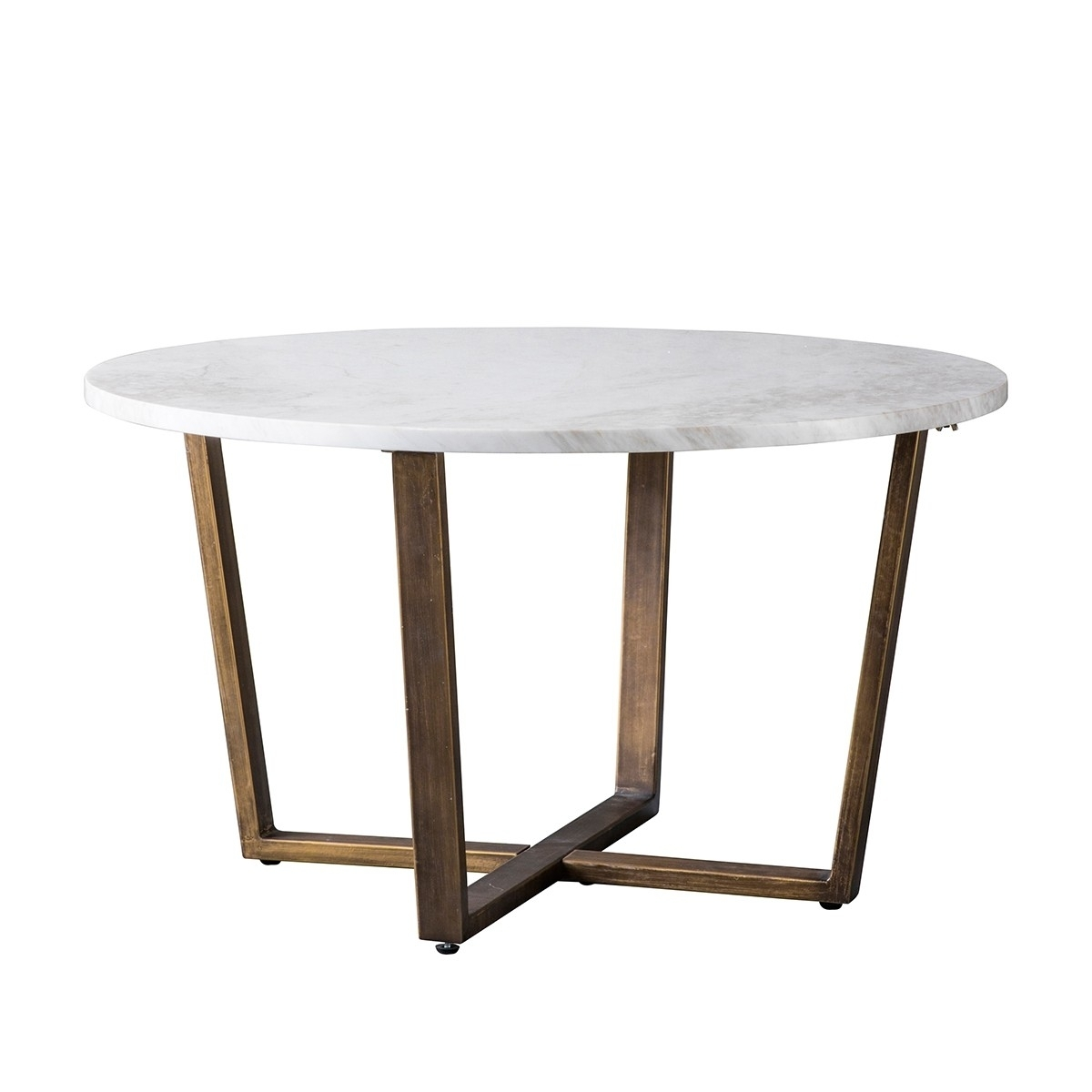Pavilion Chic Coffee Table Cleo In White Marble | Pavilion Broadway with regard to Parker Oval Marble Coffee Tables (Image 27 of 30)