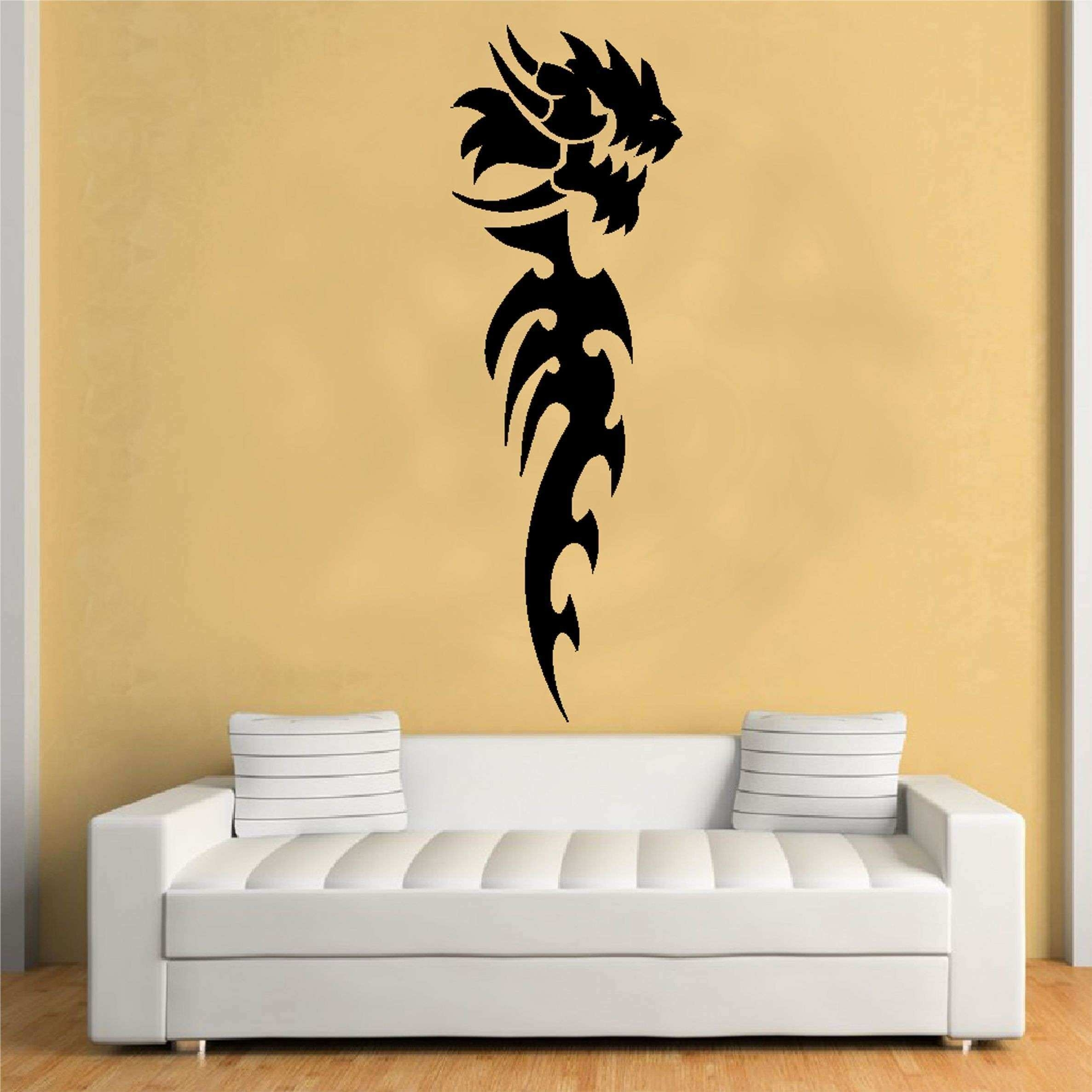 Paw Print Stencil Wall Painting Luxury Unusual Animal Wall Decor intended for Stencil Wall Art (Image 16 of 20)