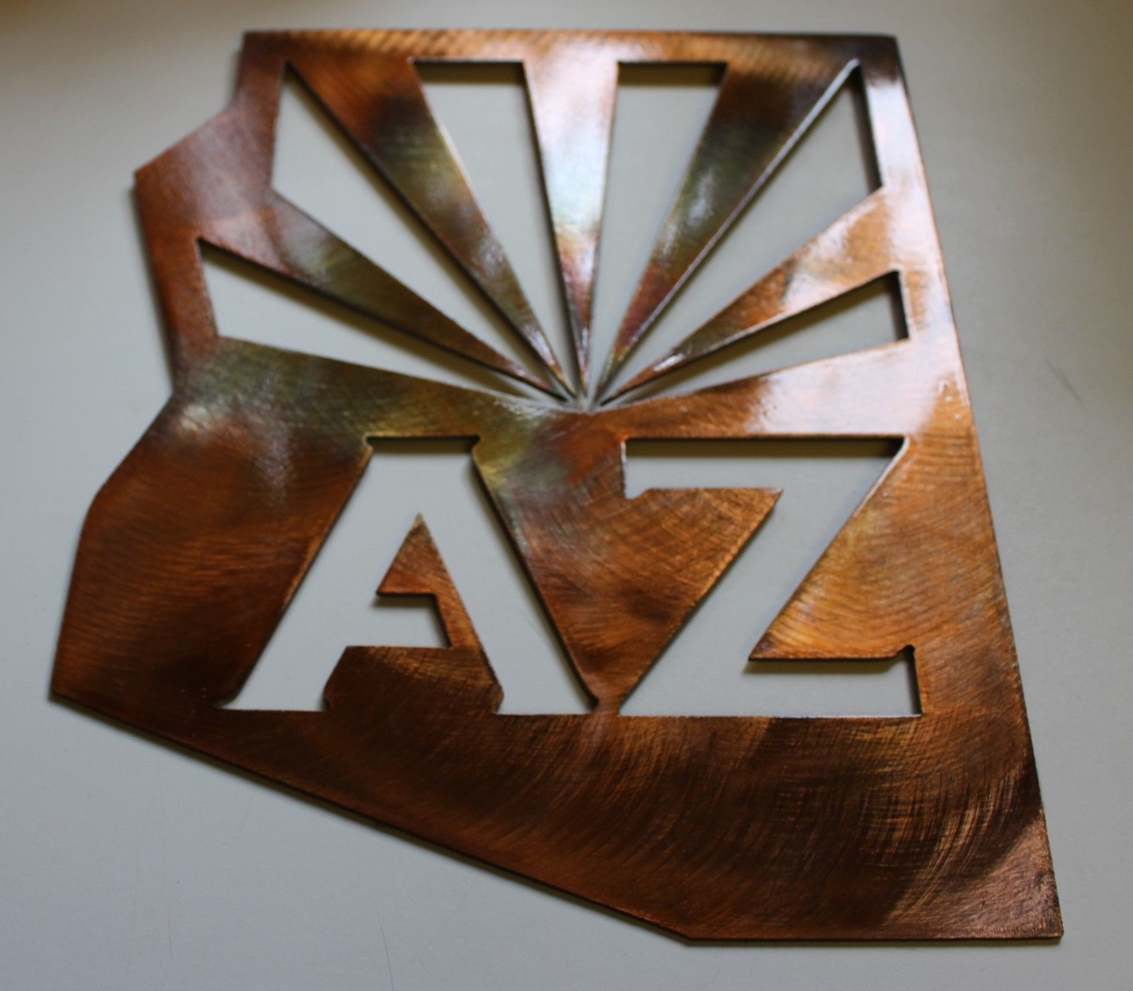Phoenix Coyotes New Arizona Metal Wall Art And 50 Similar Items within Arizona Wall Art (Image 17 of 20)