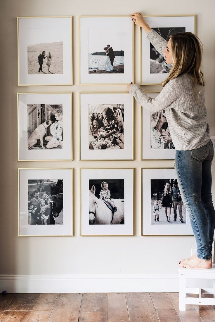 Picture Frame Wall | Wall Art | Pinterest | Beautiful Space with Cheap Framed Wall Art (Image 14 of 20)