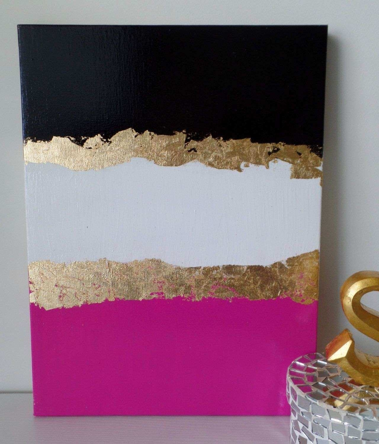 Pink Canvas Wall Art New Kate Spade Decoration Inspired Dorm Acrylic Throughout Kate Spade Wall Art (Photo 12 of 20)