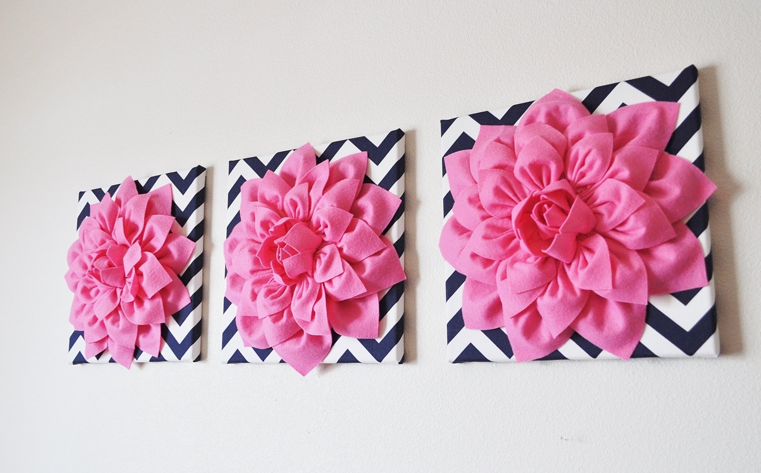 Pink Wall Decor   Www.grisly Pertaining To Pink Wall Art (Photo 15 of 20)