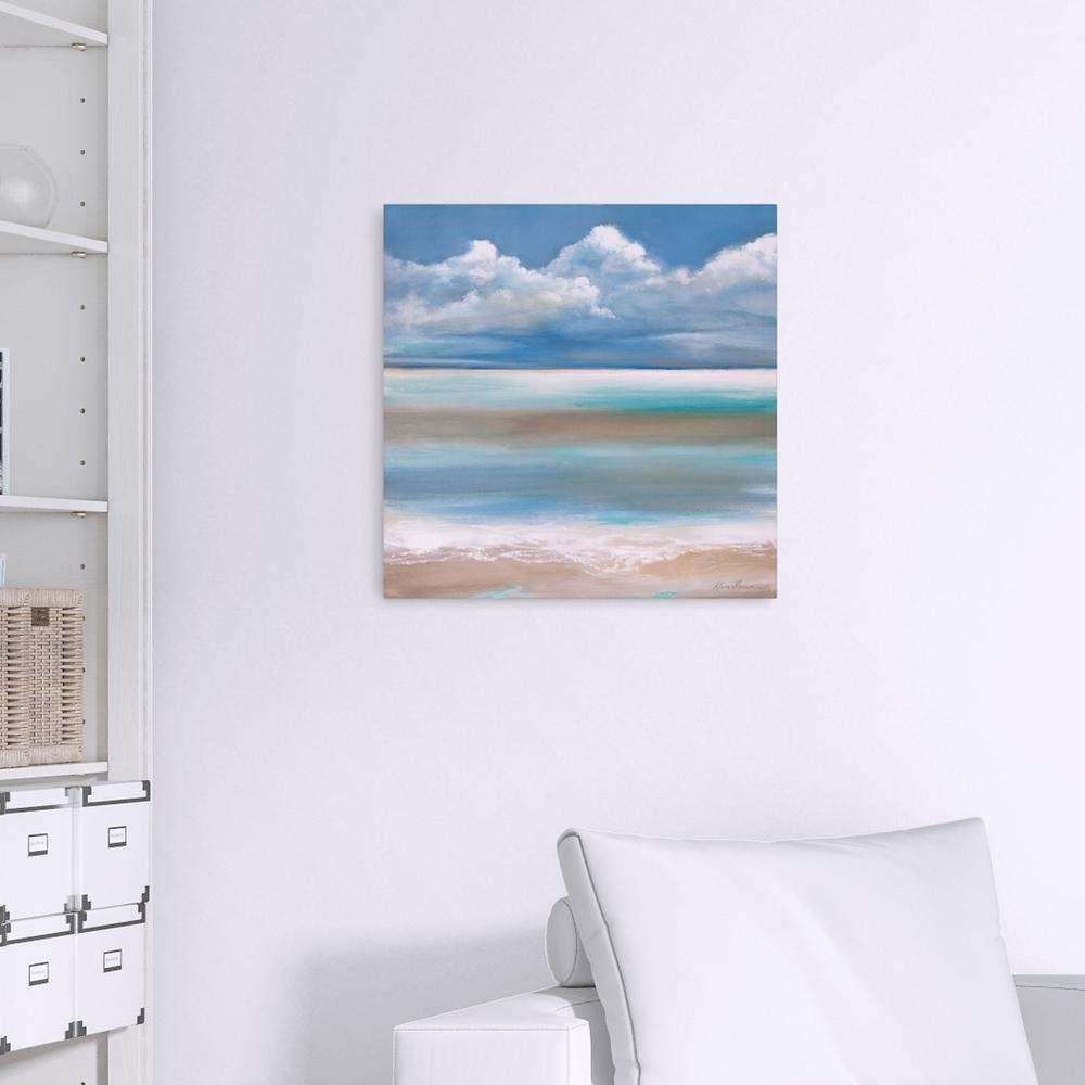 Pinnacle Tranquilitythe Sea Coastal Canvas Wall Art-1711-3377 intended for Coastal Wall Art (Image 14 of 20)