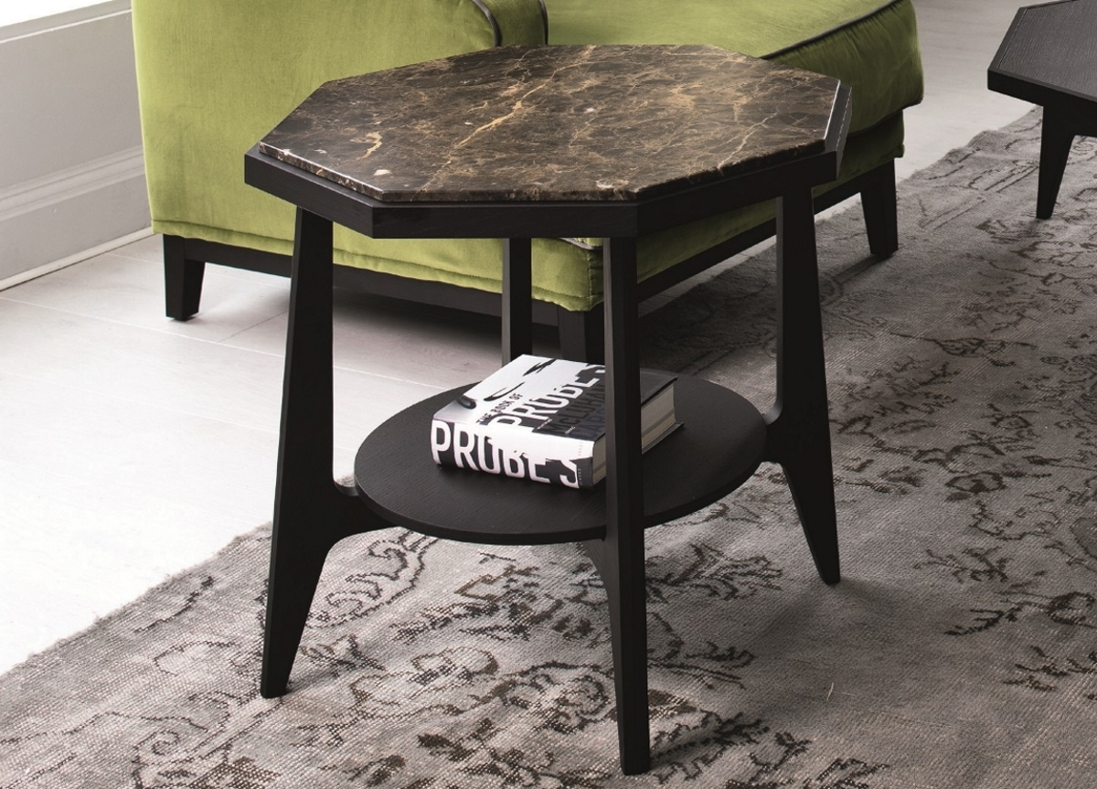 Porada Marrakesh Marble Coffee Table | Porada Furniture with Marrakesh Side Tables (Image 28 of 30)