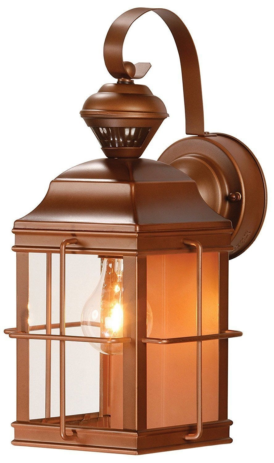 Porch Lantern Lamp Patio Lighting Bronze Wall Light Outdoor Weather Regarding Outdoor Weather Resistant Lanterns (View 13 of 20)