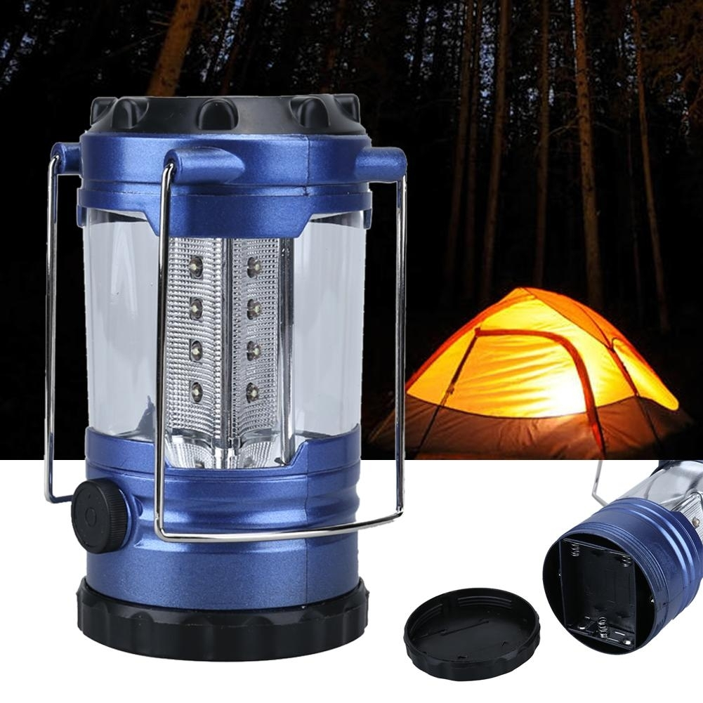 Portable 12Led 50,000H Outdoor Hanging Camping Lantern Camping with Outdoor Rechargeable Lanterns (Image 16 of 20)