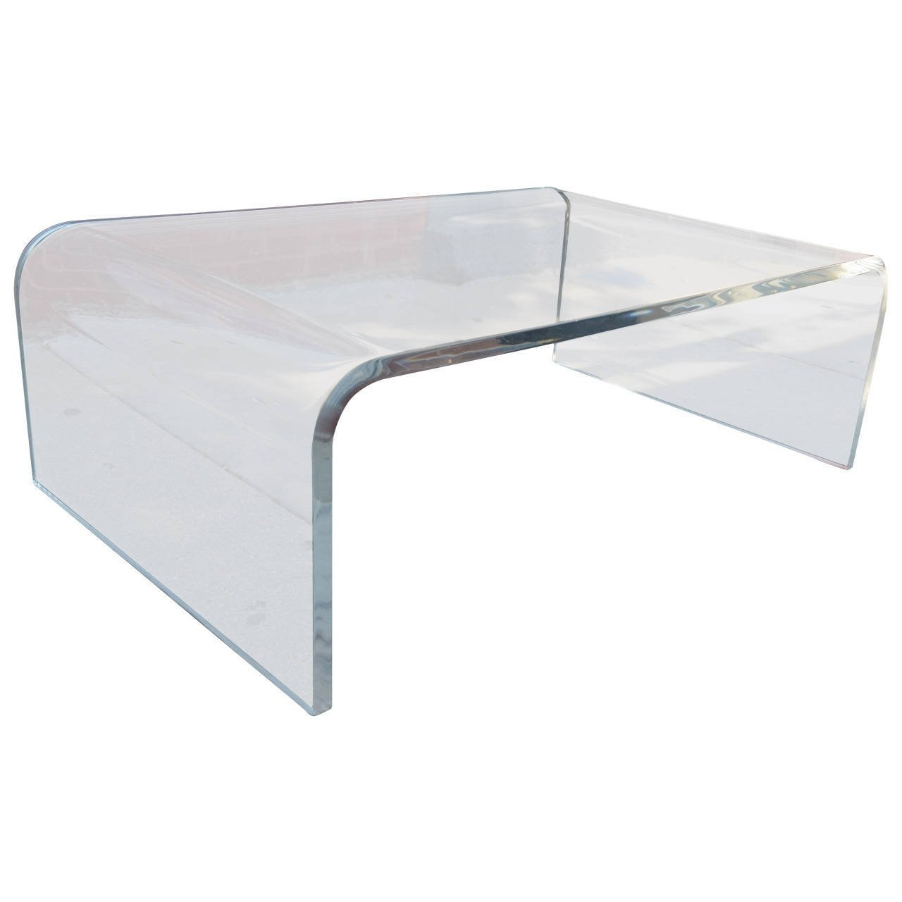 Posh New Acrylic Coffee Table Ideas Acrylic Coffee Tabledesigns That Intended For Peekaboo Acrylic Coffee Tables (Photo 17 of 30)