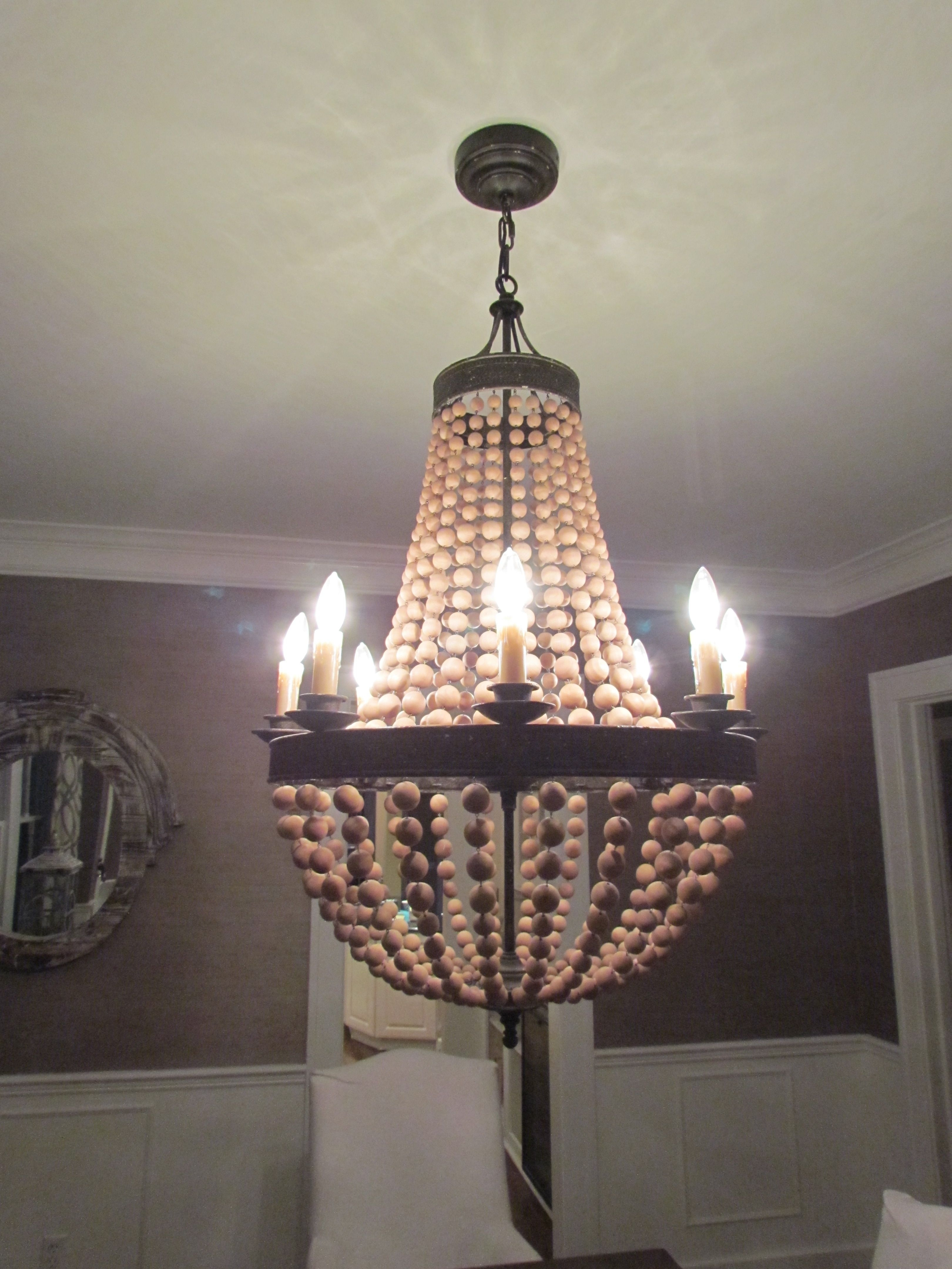Pottery Barn Chandelier Knock Off Instructions Wine Bottle Lamp With Outdoor Lanterns At Pottery Barn (Photo 12 of 20)