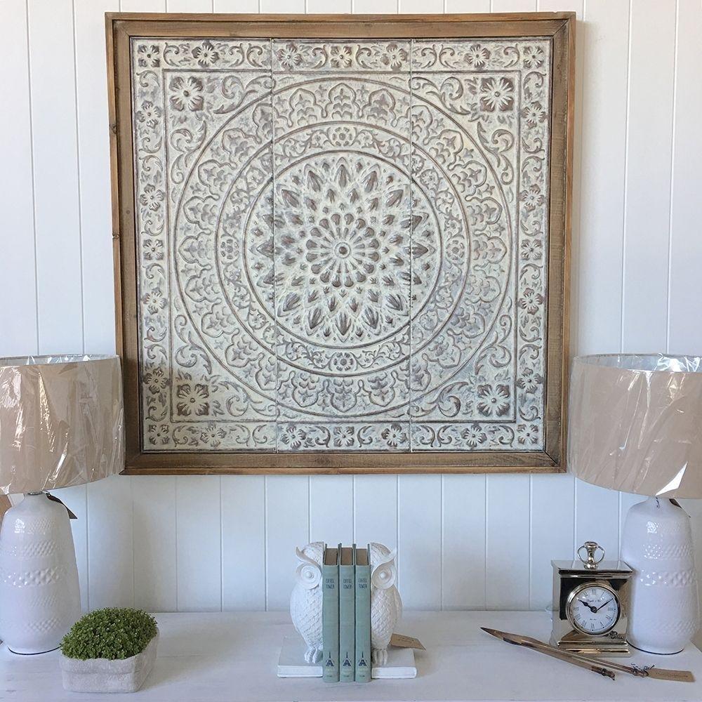 Pressed Tin Wall Art - Pressed Tin Tiles Wall Art Panels within Tin Wall Art (Image 9 of 20)
