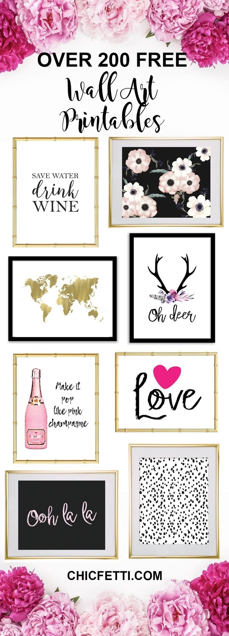 Printable Wall Art – Print Wall Decor And Poster Prints For Your Throughout Free Printable Wall Art Decors (View 20 of 20)