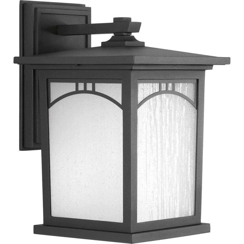 Progress Lighting Residence Collection 1-Light Outdoor 8 Inch pertaining to Outdoor Vinyl Lanterns (Image 15 of 20)