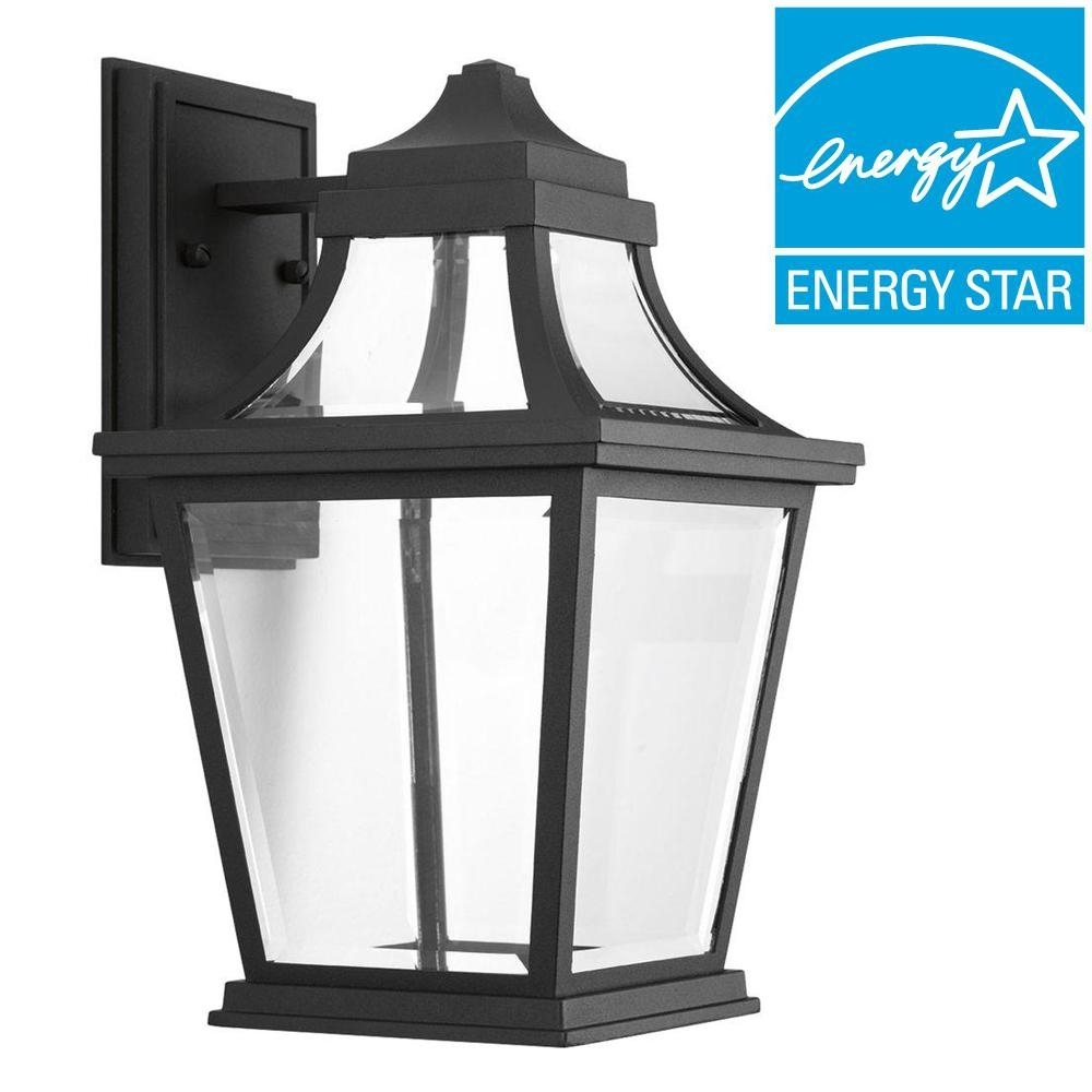 Progress Lighting Wish Collection 1 Light Outdoor 7 Inch Textured Inside Xl Outdoor Lanterns (Photo 20 of 20)