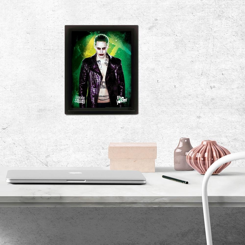 Pyramid America Suicide Squad – The Joker Wall Art Eppla78152F – The Throughout Joker Wall Art (Image 18 of 20)