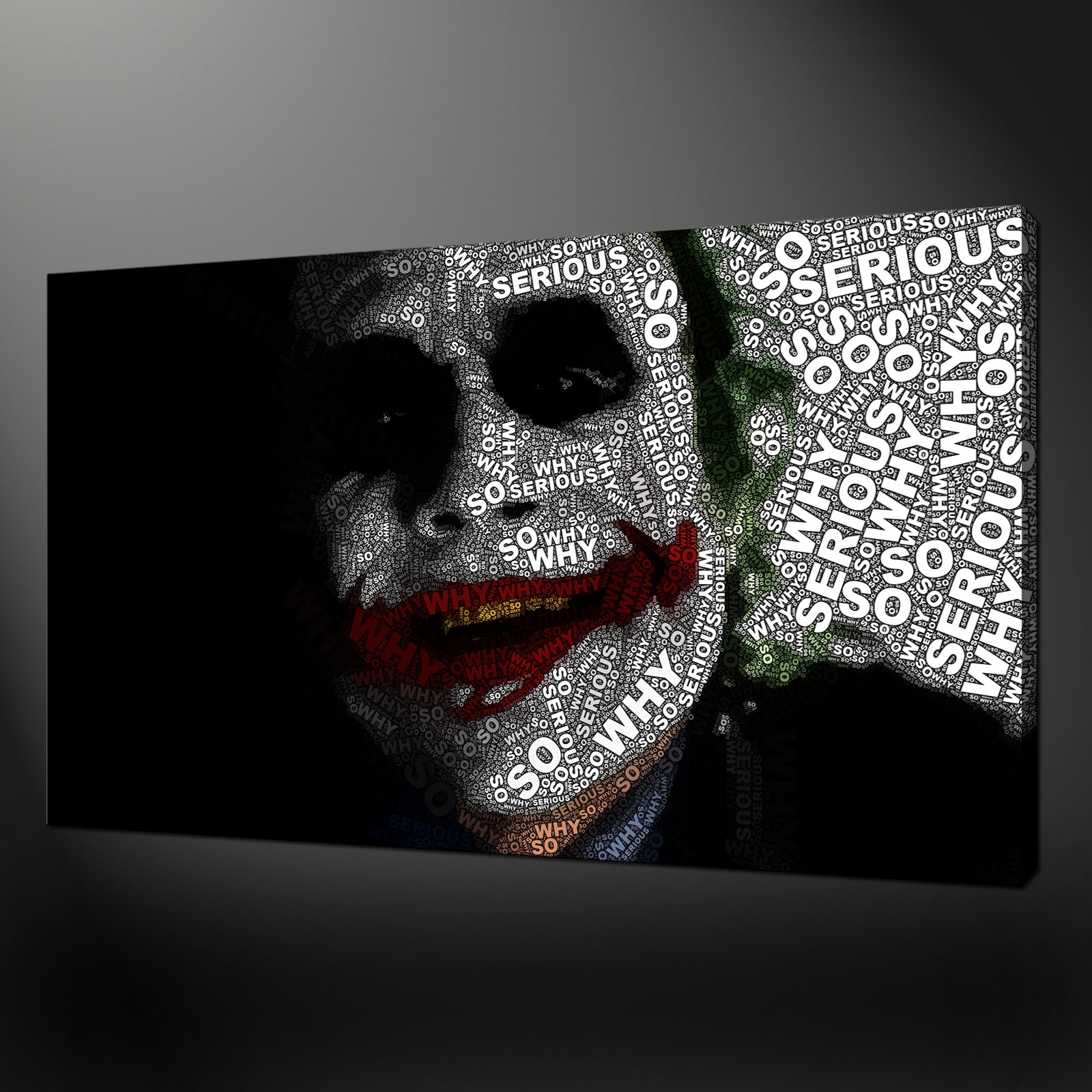 Quality Canvas Print Art With Joker Wall Art (Image 19 of 20)