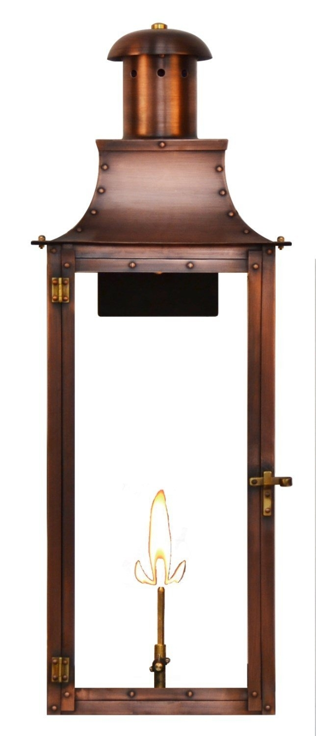 Quality Gas Lights, Outdoor Lanterns, Natural Gaslighting, Coach in Outdoor Gas Lanterns (Image 13 of 20)