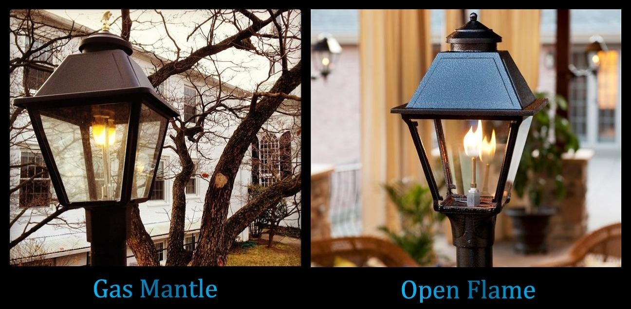 Quality Outdoor Gas Lamps Electric Lamps Lanterns Home Patio Street for Outdoor Propane Lanterns (Image 16 of 20)