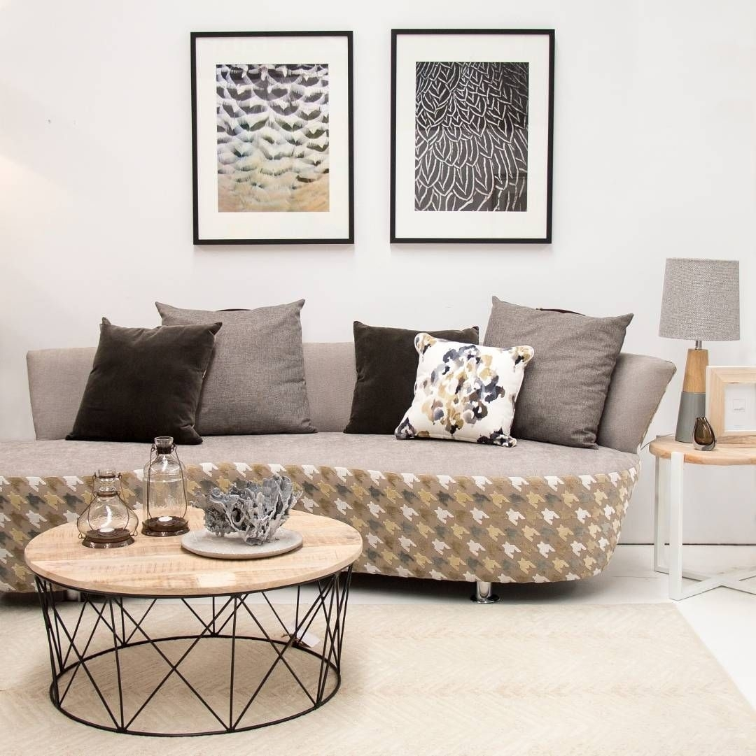 Quick Spot Of Monochrome Styling In Our Designer Showroom // Shop For Jelly Bean Coffee Tables (Image 25 of 30)