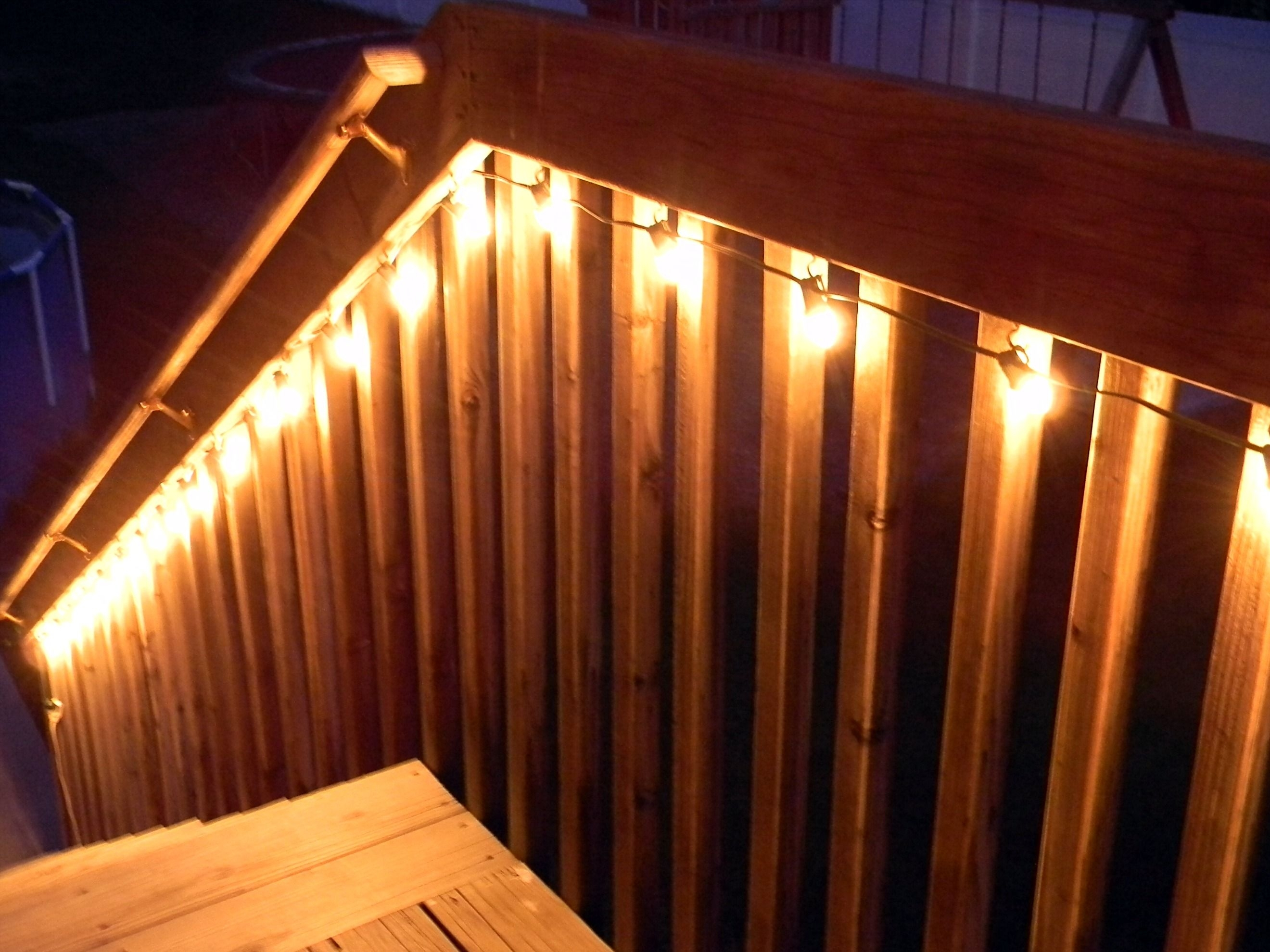 Quick Tip #5 - Lighting The Deck | Patios, Decks & Pools | Pinterest inside Outdoor Deck Lanterns (Image 18 of 20)