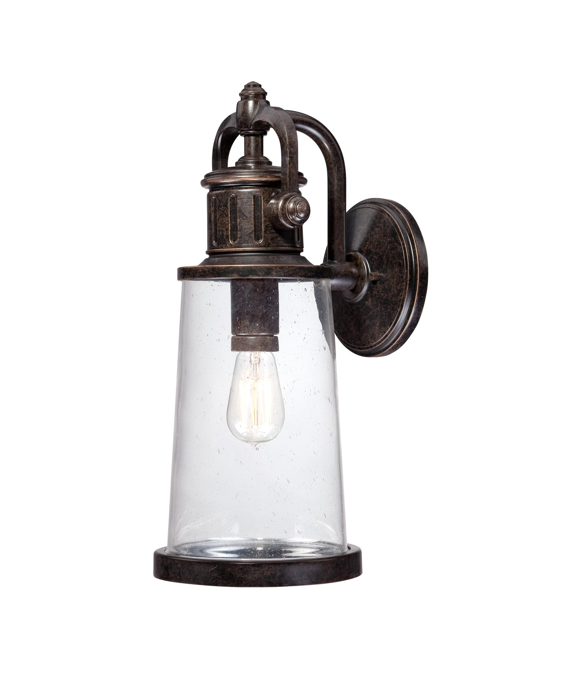 Quoizel Sdn8408 Steadman 8 Inch Wide 1 Light Outdoor Wall Light throughout Quoizel Outdoor Lanterns (Image 15 of 20)