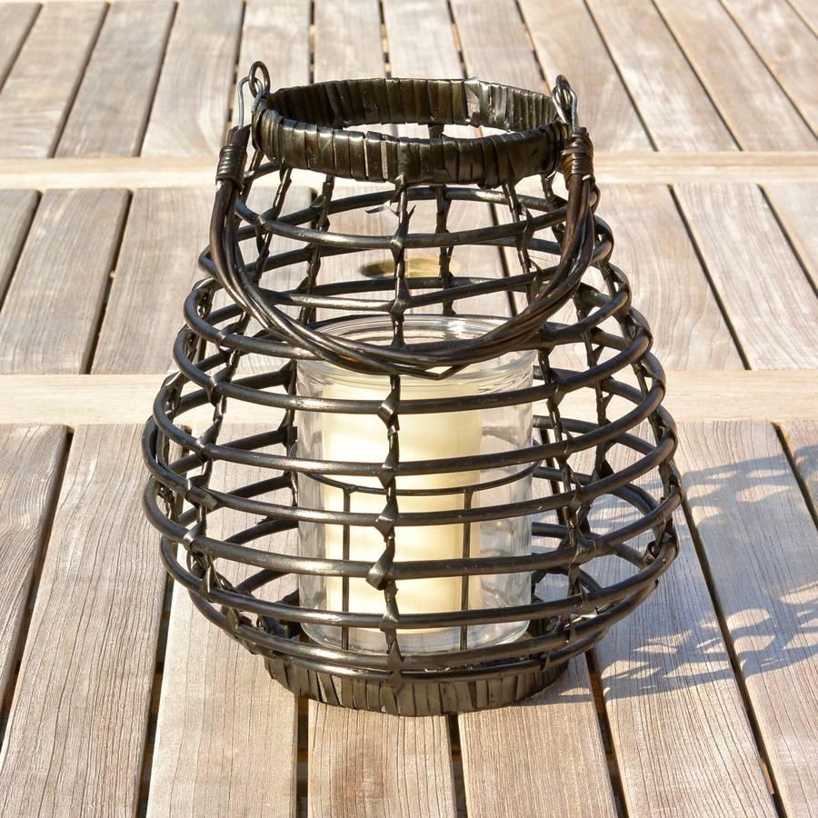 Rattan Outdoor Lanterns Ella James regarding Outdoor Rattan Lanterns (Image 13 of 20)