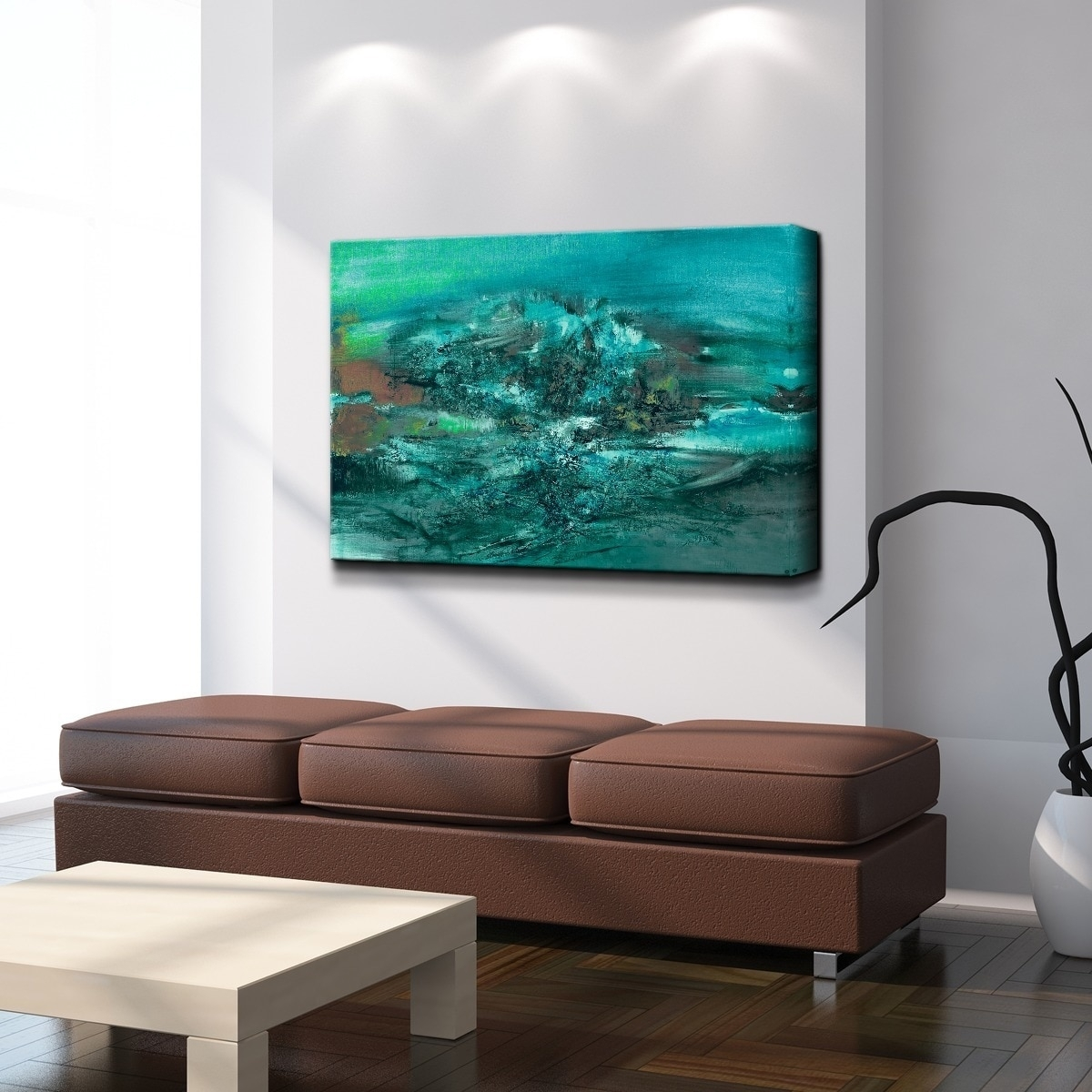 Ready2Hangart 'smash Xi' Oversized Canvas Wall Art - Free Shipping with regard to Cheap Oversized Canvas Wall Art (Image 18 of 20)