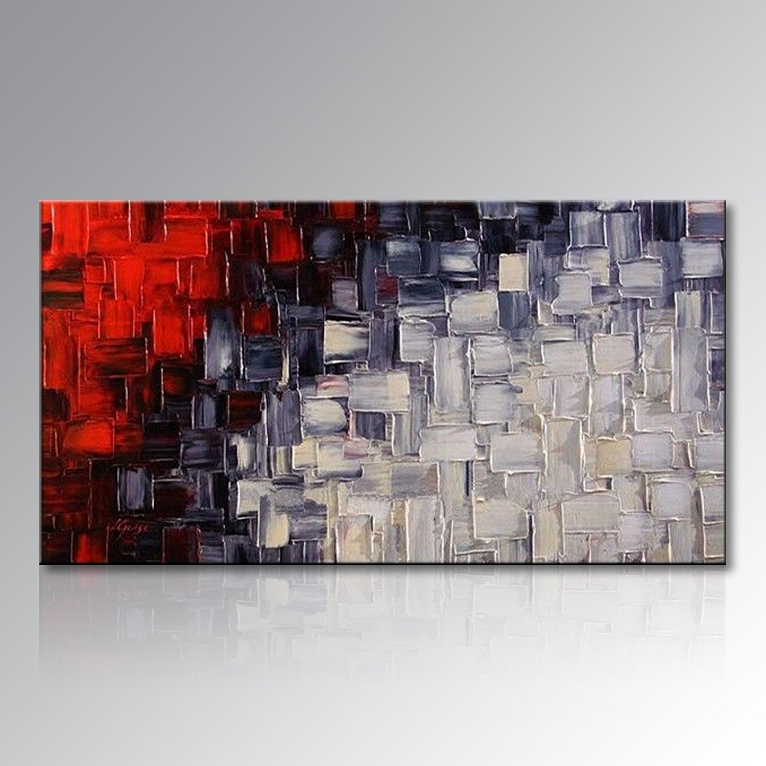 Red Canvas Art: Amazon with regard to Red Canvas Wall Art (Image 17 of 20)