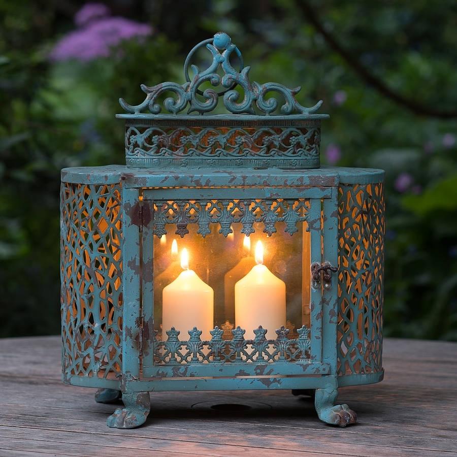Red Vintage Lanterns : Elegant Home Design – Pretty Vintage Lanterns Within Vintage Outdoor Lanterns (View 14 of 20)