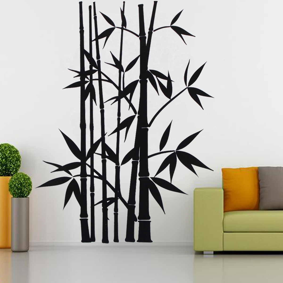 Removable Wall Sticker Home Decor Art Decoration Mural Decal Vinyl With Bamboo Wall Art (View 4 of 20)