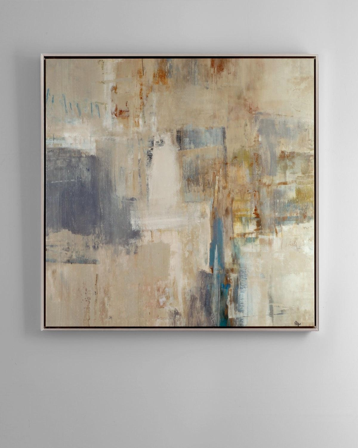 """Rendezvous"""" Abstract Giclee On Canvas Wall Art 