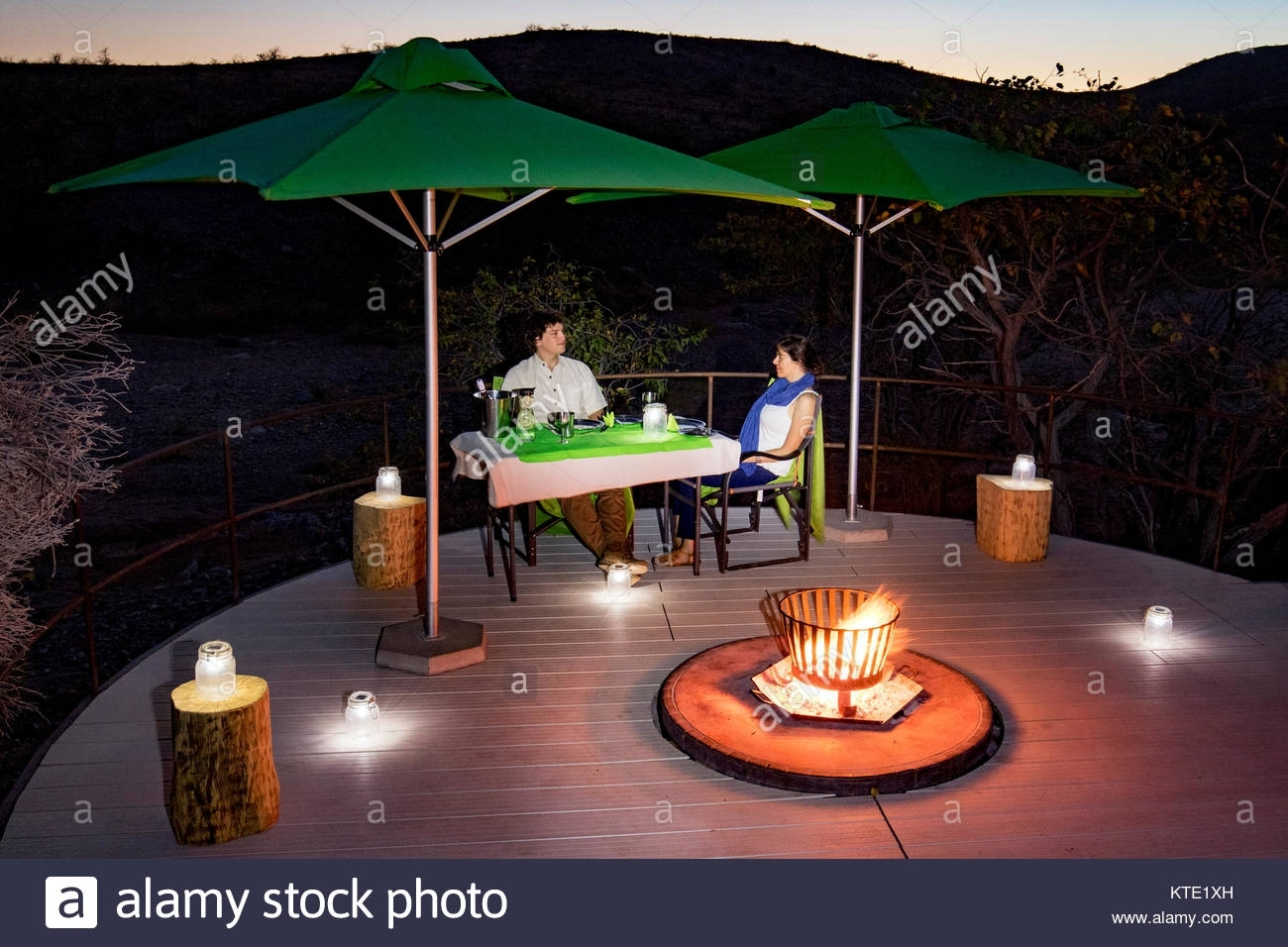 Romantic Outdoor Dinner Lanterns Stock Photos & Romantic Outdoor intended for Outdoor Dining Lanterns (Image 16 of 20)