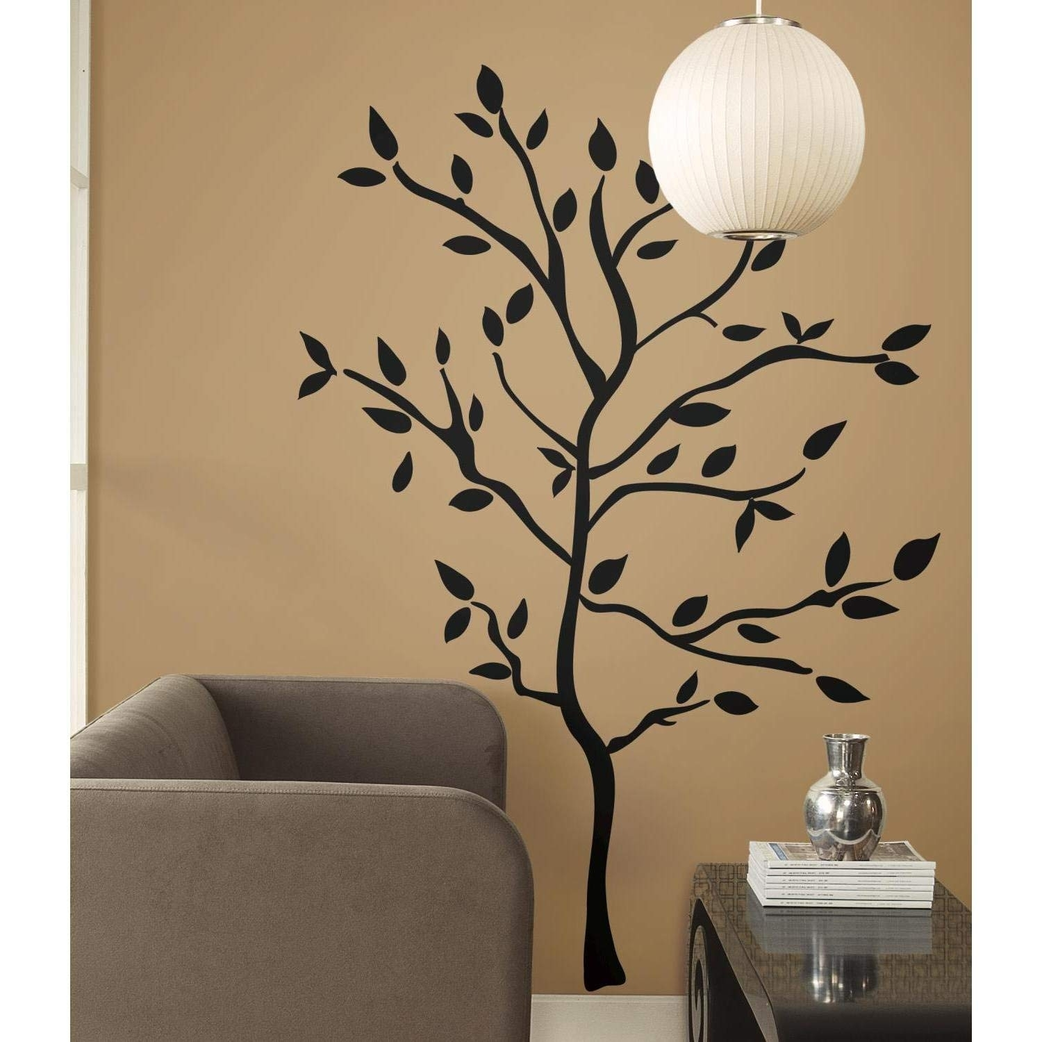 Roommates Rmk1317Gm Tree Branches Peel & Stick Wall Decals – Wall With Regard To Stick On Wall Art (View 12 of 20)