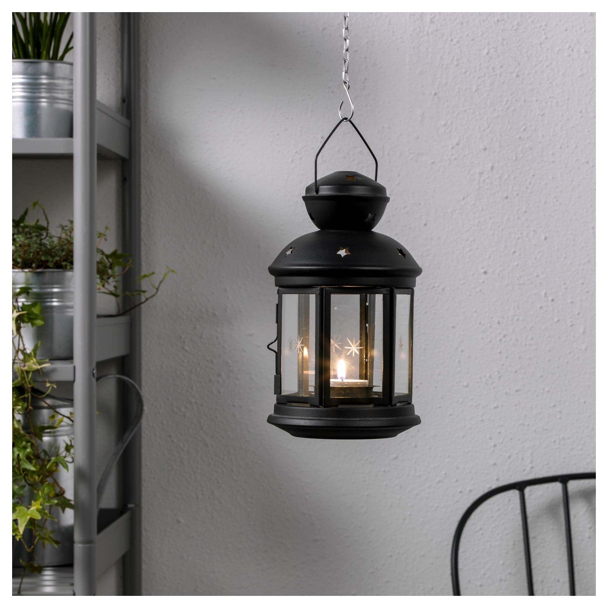 Rotera Lantern For Tealight - Ikea intended for Ikea Outdoor Lanterns (Image 13 of 20)