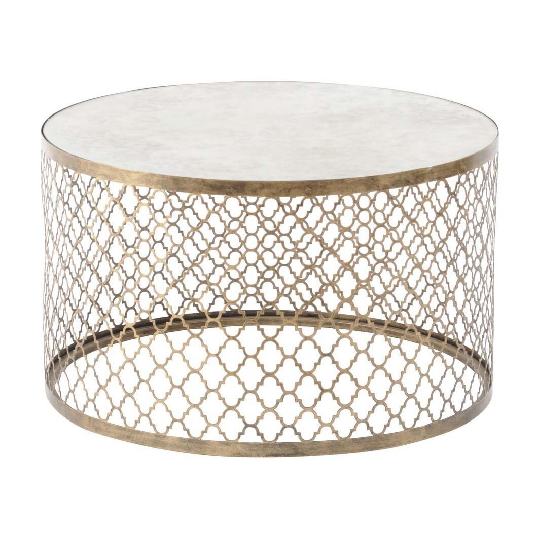 Round Coffee Tables - Our Pick Of The Best | Ideal Home with regard to Cuff Hammered Gold Coffee Tables (Image 14 of 30)