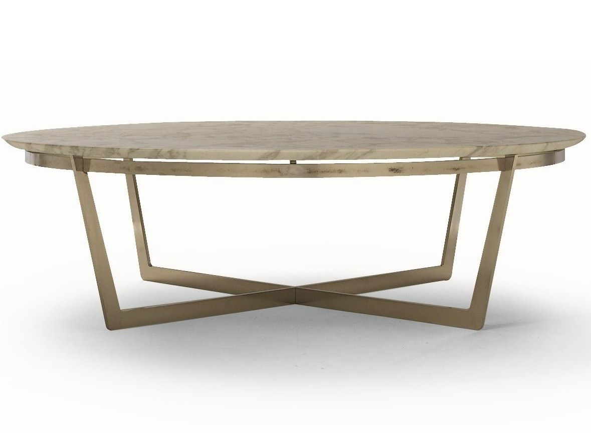 Round Marble Coffee Table Vito Vito Collectionflexform | Fur Inside Jackson Marble Side Tables (Image 21 of 30)