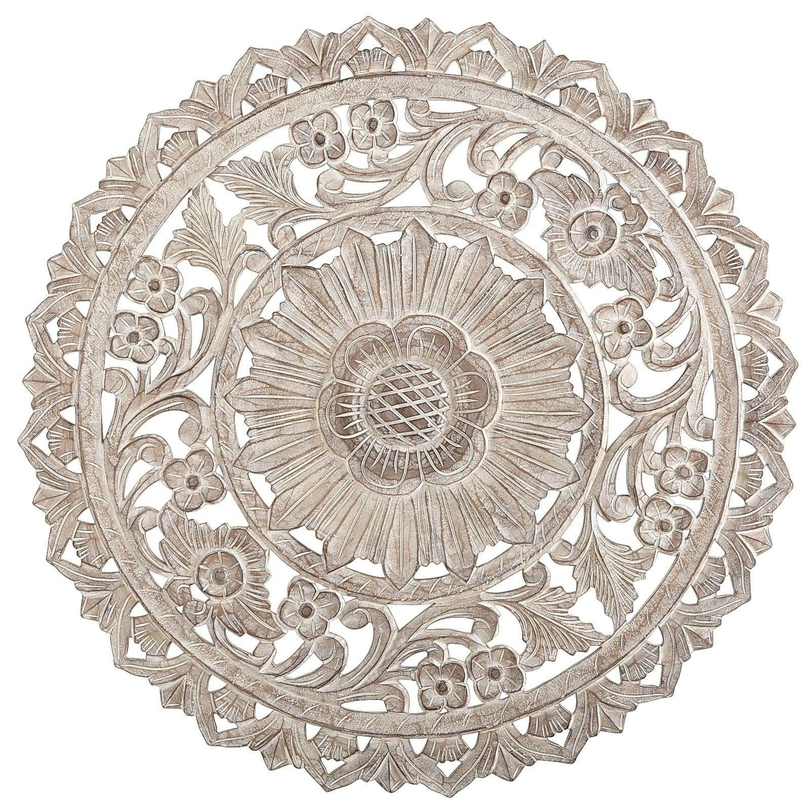 Featured Photo of Wood Medallion Wall Art