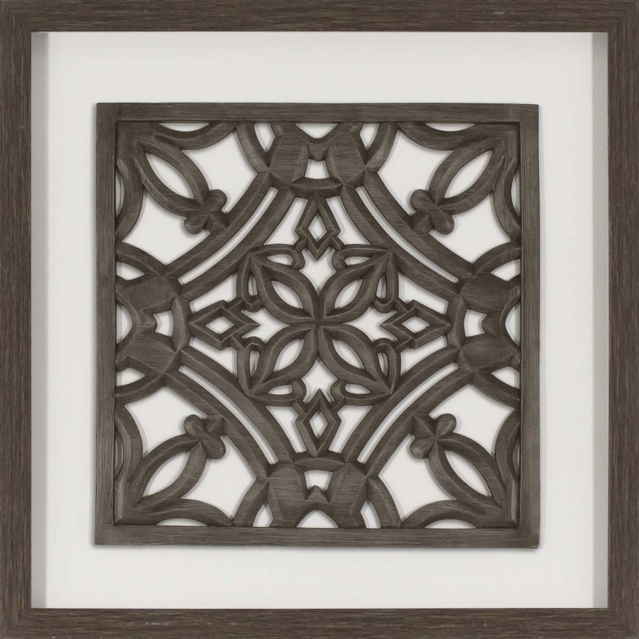Round Medallion Wall Art Wooden Framed Gorgeous Shop At 2017 Outdoor Inside Wood Medallion Wall Art (View 9 of 20)