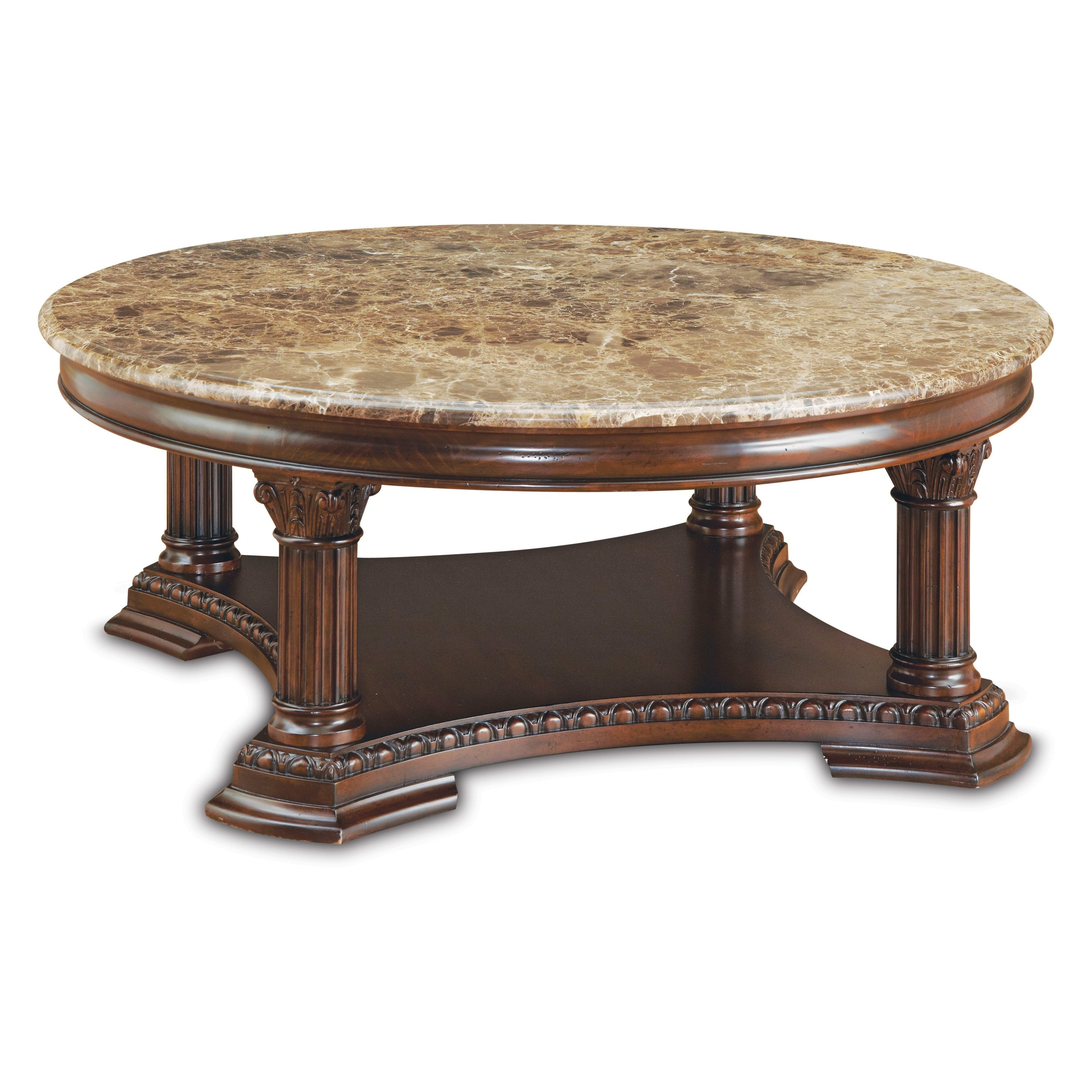 Round Stone Coffee Table Simple Coffee Table Cool Stone Top Slate in Smart Round Marble Top Coffee Tables (Image 24 of 30)
