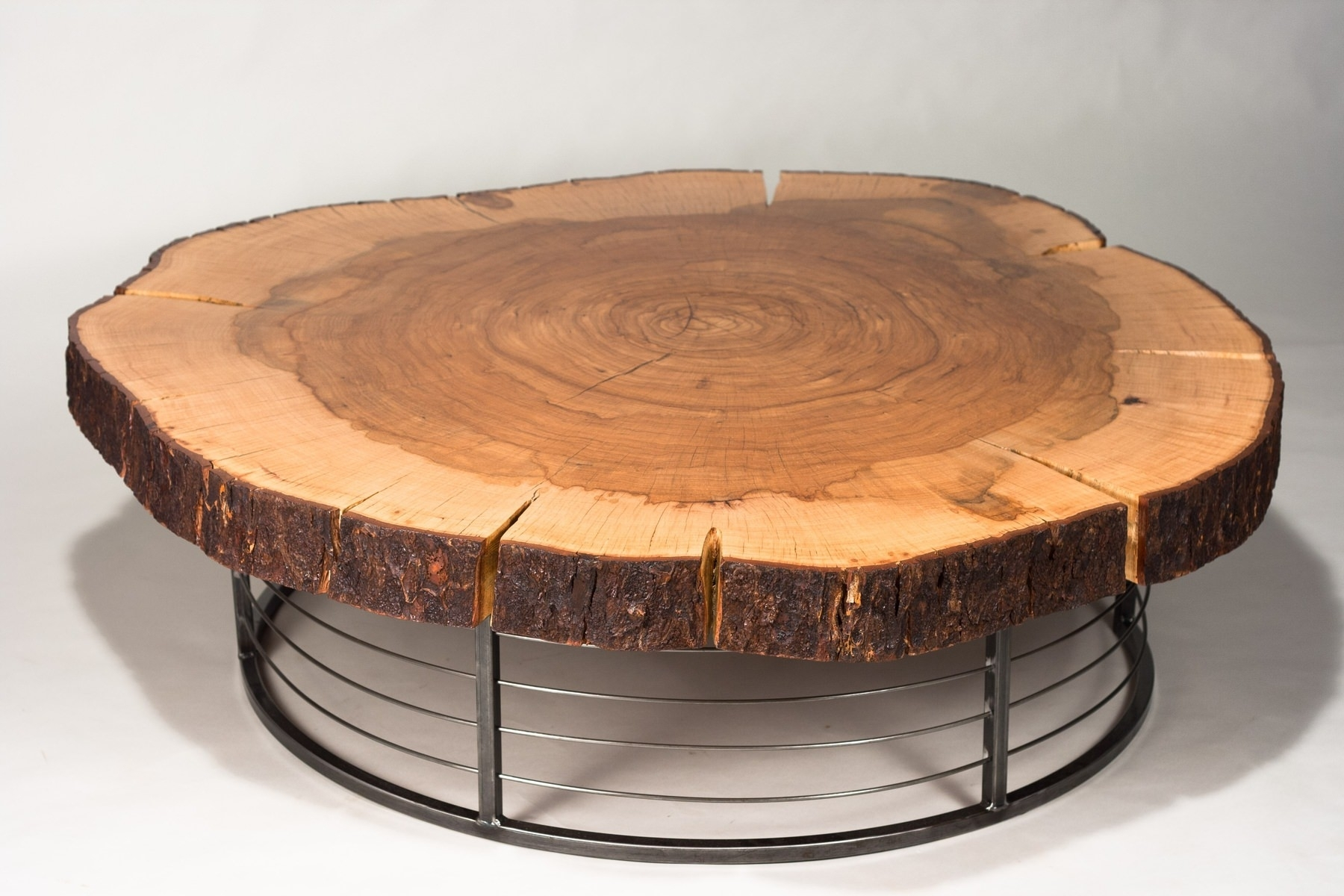 Round Tree Trunk Coffee Table | Sushi Ichimura Decor : Lovely Tree within Sliced Trunk Coffee Tables (Image 17 of 30)