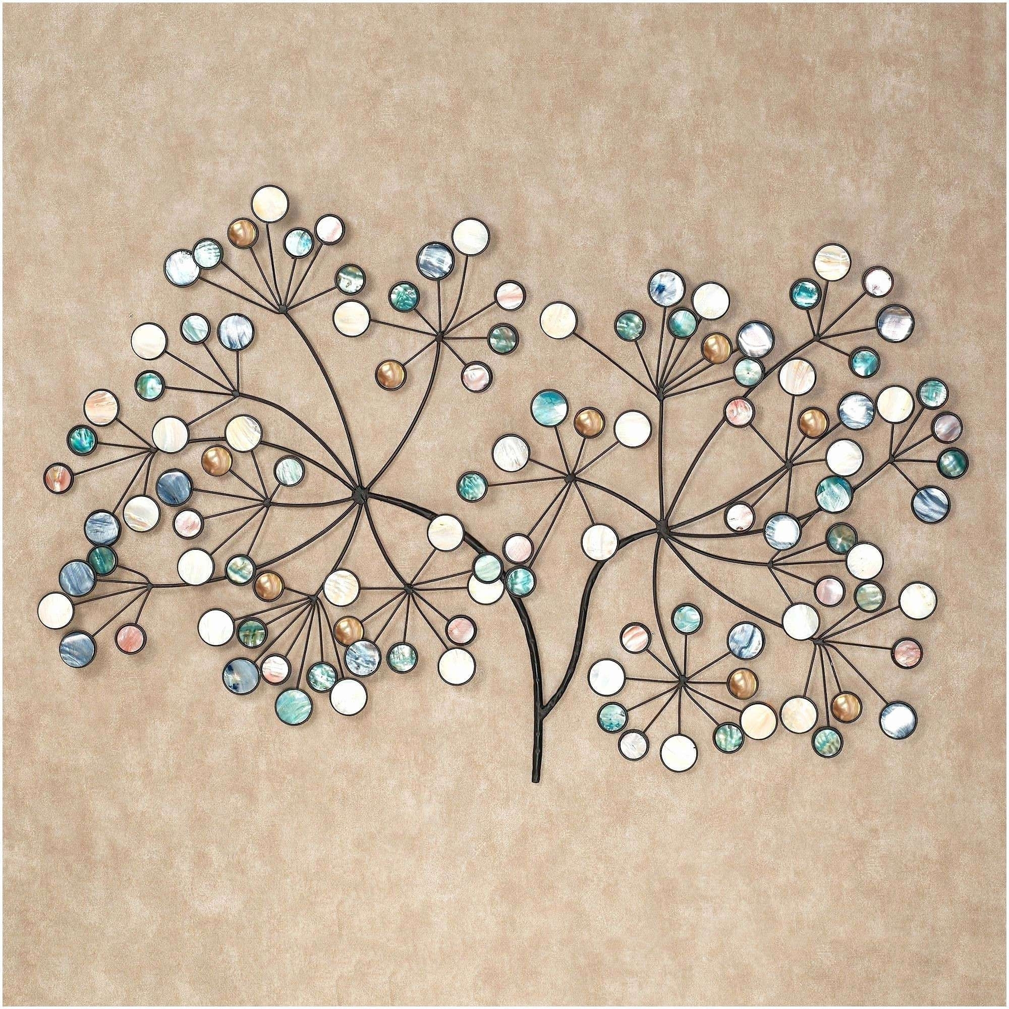 Round Wall Decor Luxury Round Metal Accent Table Artistic Decor Pertaining To Round Wall Art (View 13 of 20)