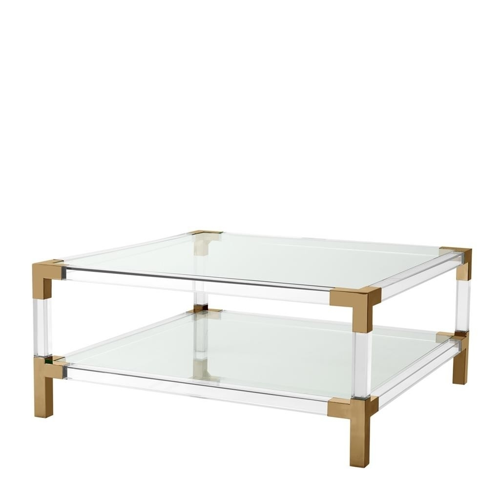 Featured Photo of Acrylic & Brushed Brass Coffee Tables