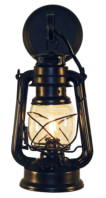 Rustic Lantern Wall Mounted Light – Small Blackmuskoka Lifestyle In Outdoor Mounted Lanterns (View 9 of 20)