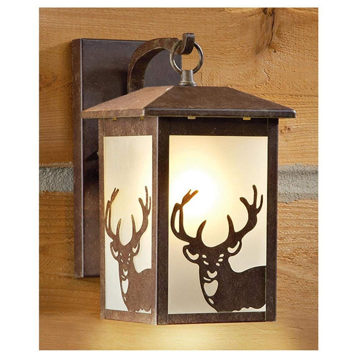 Rustic Outdoor Hanging Lamps Table Landscape Lighting Wall Mounted in Outdoor Lanterns for Tables (Image 18 of 20)