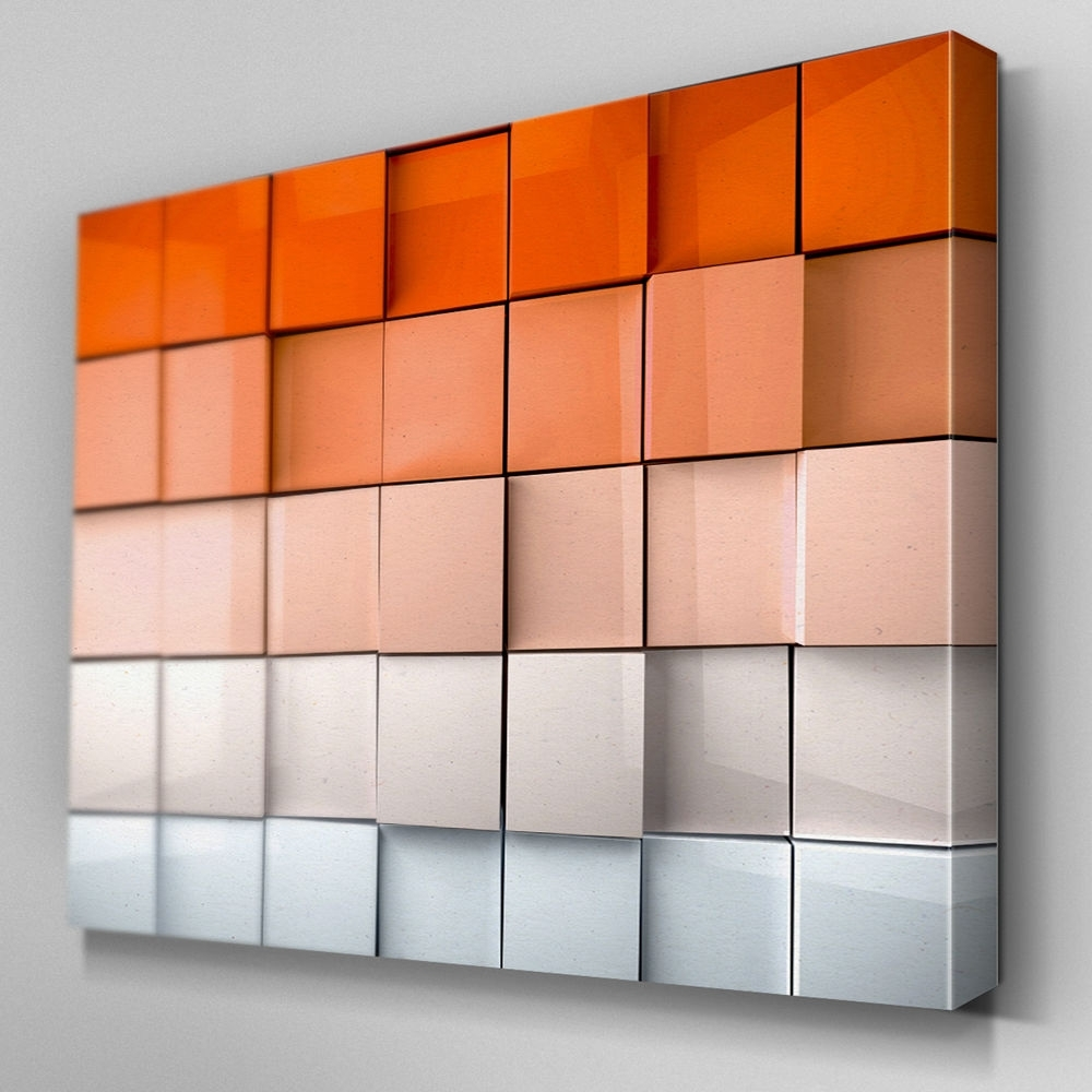 S L Luxury Orange Wall Art – Home Design And Wall Decoration Ideas Pertaining To Orange Wall Art (View 8 of 20)