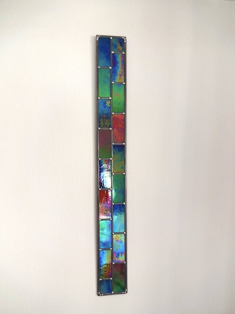 Saatchi Art: Stronger Together – 2D Opaque Stained Glass Wall Art With Stained Glass Wall Art (View 19 of 20)