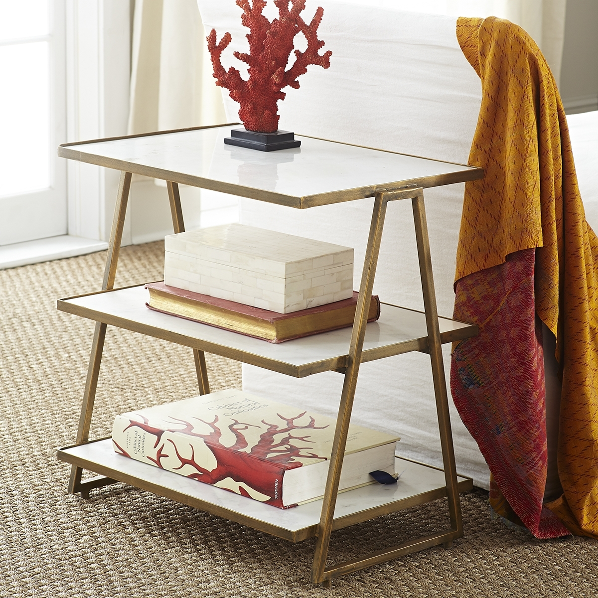 Salon Side Table | Wisteria in Jackson Marble Side Tables (Image 24 of 30)