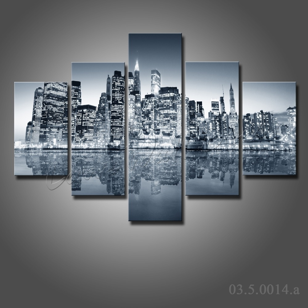 Sample New York Wall Art Canvas City Fabulous Combination Multi Inside New York Canvas Wall Art (View 19 of 20)